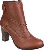 Hush Puppies , Willow Slip On Ankle Boots, Tan