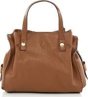 Nica , Ava Grab Tote Bag, Tan