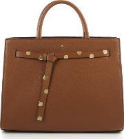 Nica , Selma Large Grab Tote Bag, Tan