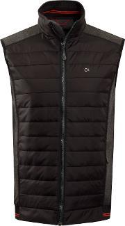 Calvin Klein Golf , Men's  Gravity Gilet, Charcoal