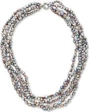 East , Fresh Water Pearl Necklace, Multi Coloured