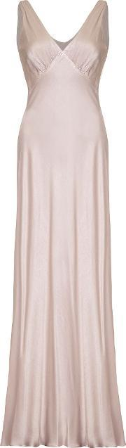 Ghost , Pearl Dress, Taupe