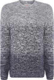 Jack & Jones , Men's  Cotton Dip Dye Jumper, Grey