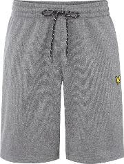 Lyle And Scott , Men's  Charlton Sports Fleece Short, Grey Marl