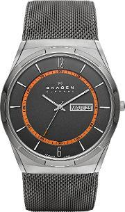 Skagen , Skw6007 Mens Mesh Watch, Grey