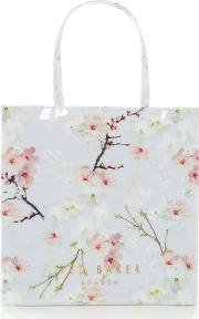 Ted Baker , Salecon Large Blossom Tote Bag, Grey