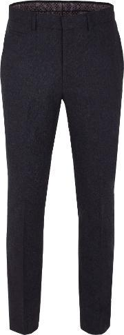 Racing Green , Men's  Hugh Semi Plain Trouser, Navy