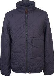 Pretty Green , Men's  Kirby Quilted Jacket, Grey