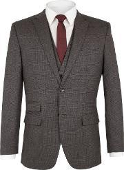 Racing Green , Men's  Spencer Check Jacket, Charcoal