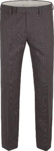 Racing Green , Men's  Spencer Check Trouser, Charcoal