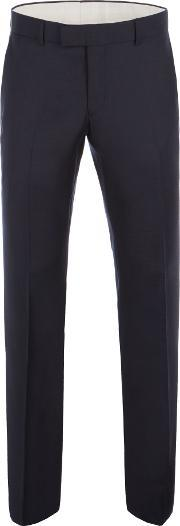 Racing Green , Men's  Bramley Navy Pick & Pick Trouser, Navy