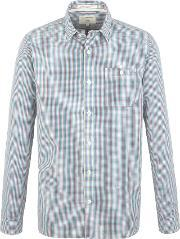 Racing Green , Men's  Treaty Multi Check Shirt, Red