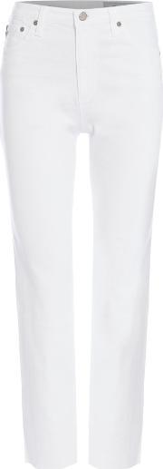 Ag Jeans , Isabelle In 1 Year White, White