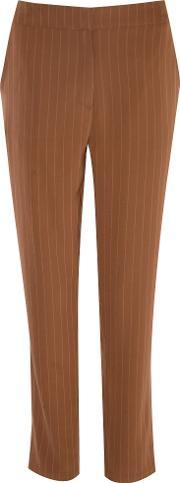 Alice & You , Pinstripe Trousers, Brown
