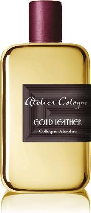 Atelier Cologne , Gold Leather 200ml Cologne Absolue Ecrin