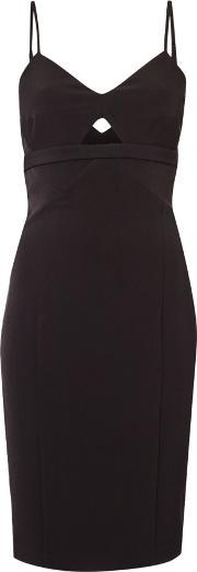 Bardot , Sleeveless Cut Out Bodycon Dress, Black