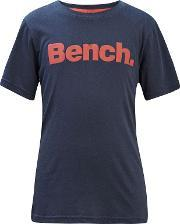 Bench , Boys Standard Graphic T Shirt, Navy