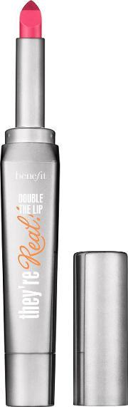 Benefit , Theyre Real Double The Lip, Fuchsia Fever