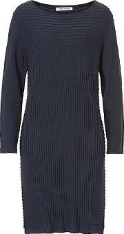 Betty Barclay , Knitted Dress, Blue