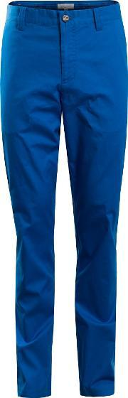 Calvin Klein Golf , Men's  Cotton Stretch Chino Trouser, Blue