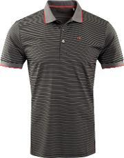 Calvin Klein Golf , Men's  Plasma Polo, Black & Red