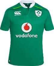 Canterbury , Men's  Ireland Vapodri Home Pro Rugby Jersey, Green
