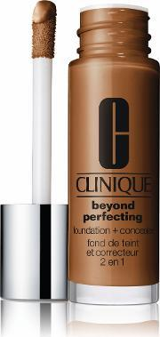 Clinique , Beyond Perfecting 2 In 1 Foundation And Concealer, Clove