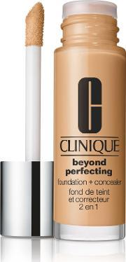 Clinique , Beyond Perfecting 2 In 1 Foundation And Concealer, Sesame