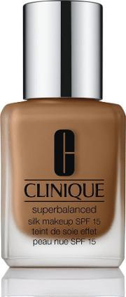 Clinique , Superbalanced Silk Makeup Spf15, Silk Cinnamon
