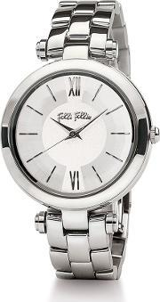 Folli Follie , Lady Bubble Mini Silver Watch, Silver