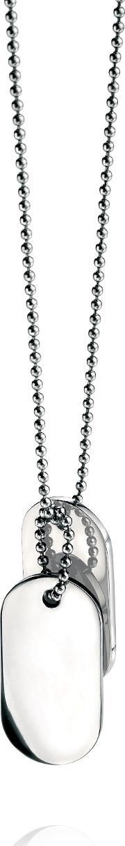 Fred Bennett , N2686 Mens Necklace, Silver