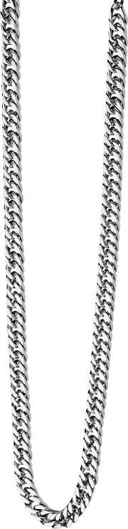 Fred Bennett , N3224 Mens Necklace, Silver