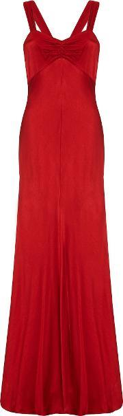 Ghost , Bea Dress, Red