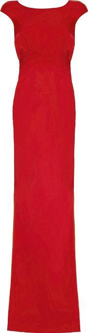 Ghost , Salma Dress, Red