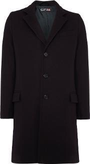 Gloverall , Men's  Lined Chesterfield Coat, Navy