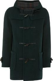 Gloverall , Men's  Mid Length Duffle Jacket, Green