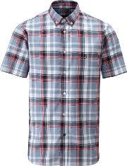 Henri Lloyd , Men's  Quinton Regular Short Sleeve Shirt, Frost