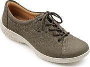 Hotter , Dew Original Extra Wide Shoes, Brown