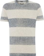 Jack & Jones , Men's  Stripe Short Sleeve T Shirt, Navy