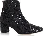 Kate Spade New York , Tal High Heel Ankle Boots, Black