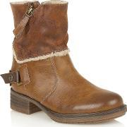 Lotus , Doreen Ankle Boots, Brown