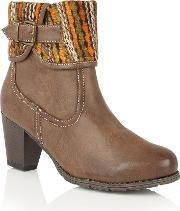 Lotus , Zalea Ankle Boots, Brown