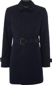 Michael Kors , Men's  Collared Trench Coat, Navy