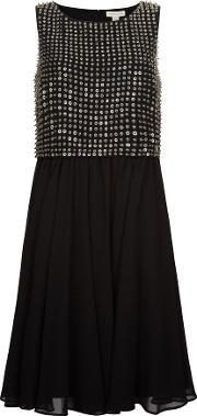 Monsoon , Misha Dress, Black