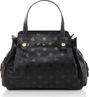 Nica , Ava Grab Tote Bag, Black Multi