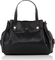 Nica , Ava Grab Tote Bag, Black