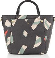 Nica , Hayley Grab Tote Bag, Black Multi