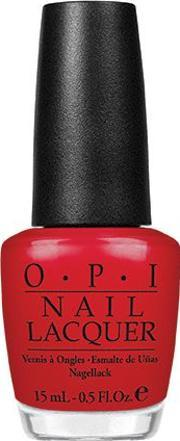 Opi , Nail Lacquer 15ml, Color So Hot It Bern