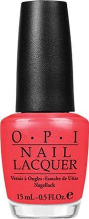 Opi , Nail Lacquer 15ml, I Eat Mainely Lobste