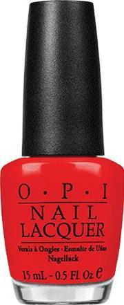 Opi , Nail Lacquer 15ml, Red My Fortune Cooki